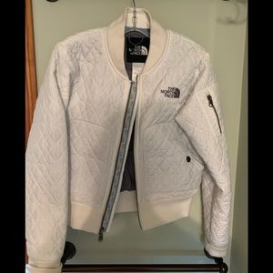 North Face XS women's quilted jacket.